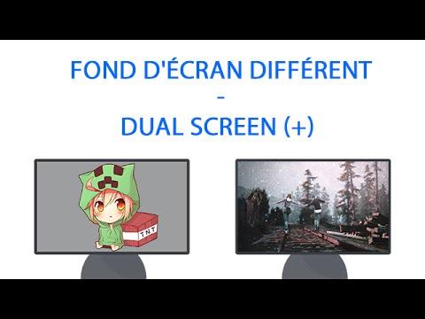 Astuce w10 fond d 39 cran diff rent dual screen for Photo ecran w10