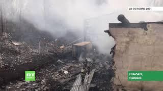 Russie : incendie mortel dans une usine de la région de Riazan