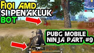 FIQI AMD KOK NOB GINI⁉️ PUBG MOBILE NINJA TROLL #9 (Trolling and Funny Moments)