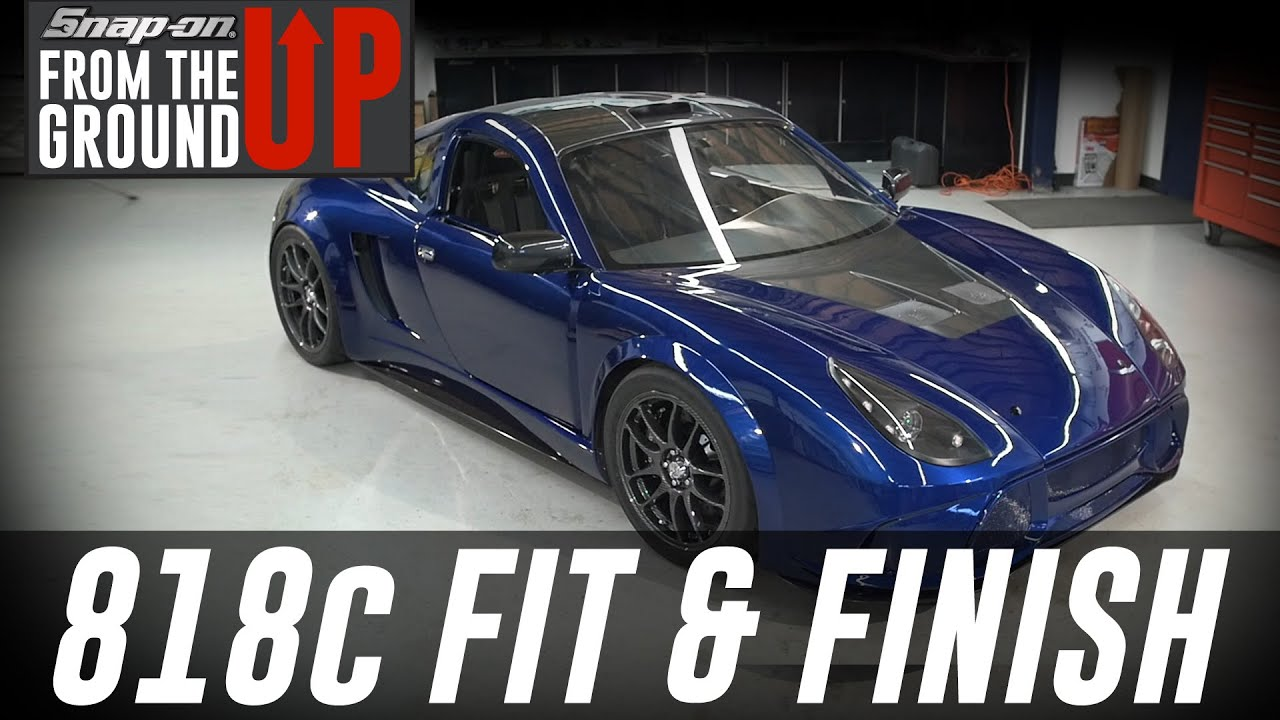 finishing up the 818c at factory five  part 3