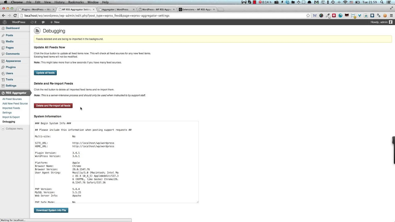 wp rss aggregator overview youtube