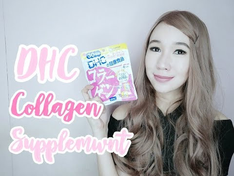 DHC Collagen Supplement Review ♡ Nicole Faller