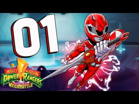 Mighty Morphin Power Rangers MEGA BATTLE Part 1 Invasion Day of the Dumpster