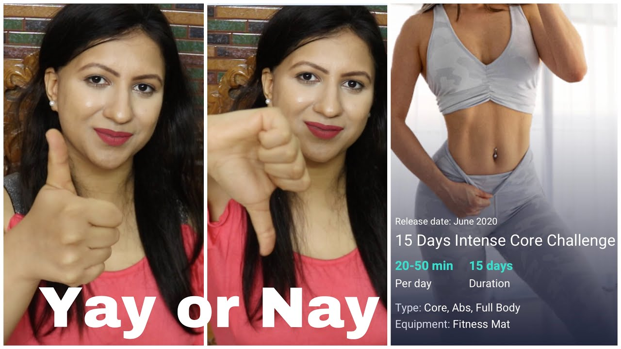 I tried Chloe Ting Intense Core Challenge | Abs in 15 days | My experience and results