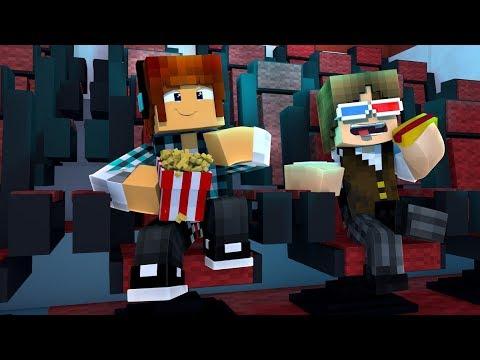 Minecraft Filme: CINEMA DENTRO DO MINECRAFT COM JAZZGHOST !!