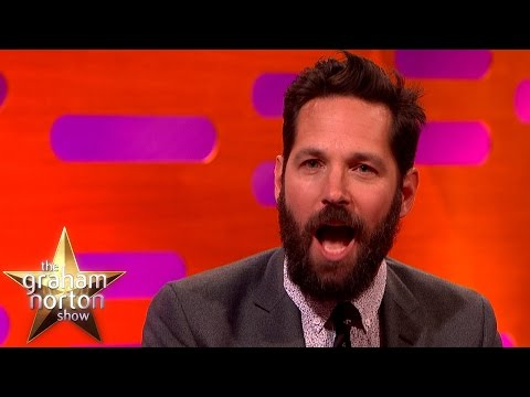 Paul Rudd Opens Up About His Embarrassing girl Moment  The Graham Norton