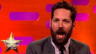 Paul Rudd Opens Up About His Embarrassing Fangirl Moment - The Graham Norton Show