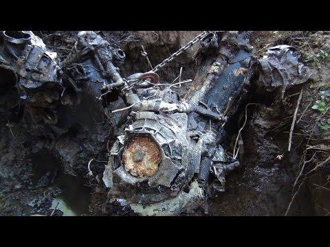 Подьем пикирующего бомбардировщика ПЕ-2