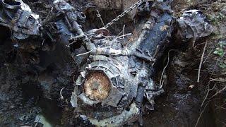 Подъем пикирующего бомбардировщика ПЕ-2