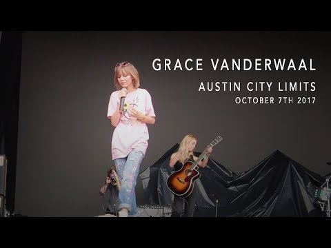 Grace VanderWaal at Austin City Limits. Oct 7th, 2017