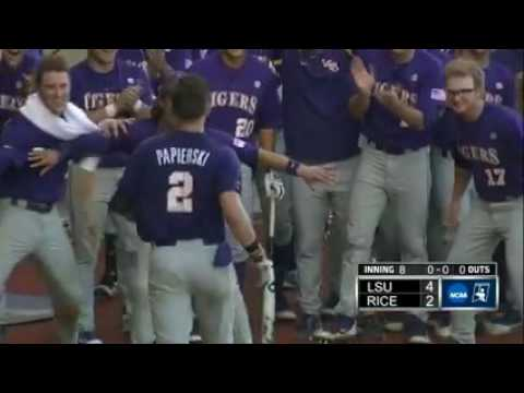 LSU vs. Rice regional highlights