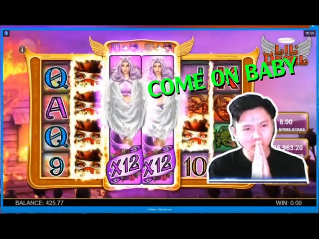 RECORD WIN - LIL DEVIL (Big Time Gaming) - DoDoKickAssSlots