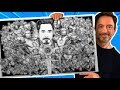 Drawing ALL 50 IRON MAN SUITS in 24 HOURS+ !!