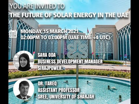 The future of Solar Energy in the UAE Lab