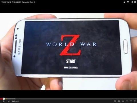 World War Z Android/IOS Gameplay Part 1 - Fliptroniks.com
