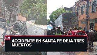 Último Minuto: Tráiler Embiste 12 Autos En Santa Fe