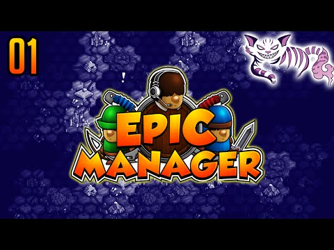 Let's Play Epic Manager Gameplay Walkthrough Part 1 - Creating our Adventuring Agency! - PC Gameplay