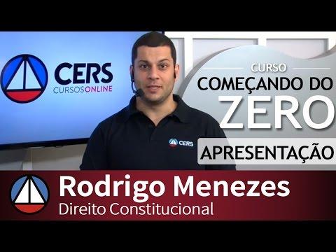 COMEÇANDO DO ZERO 2016.2 - Direito Constitucional - Bloco de ...