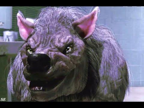 Werewolf vs Werewolf Fight Scene