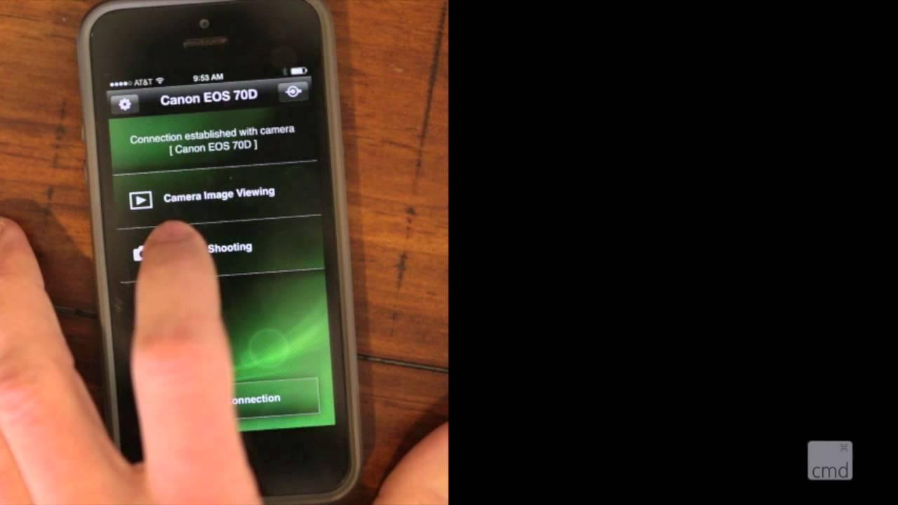 Canon Remote App Iphone