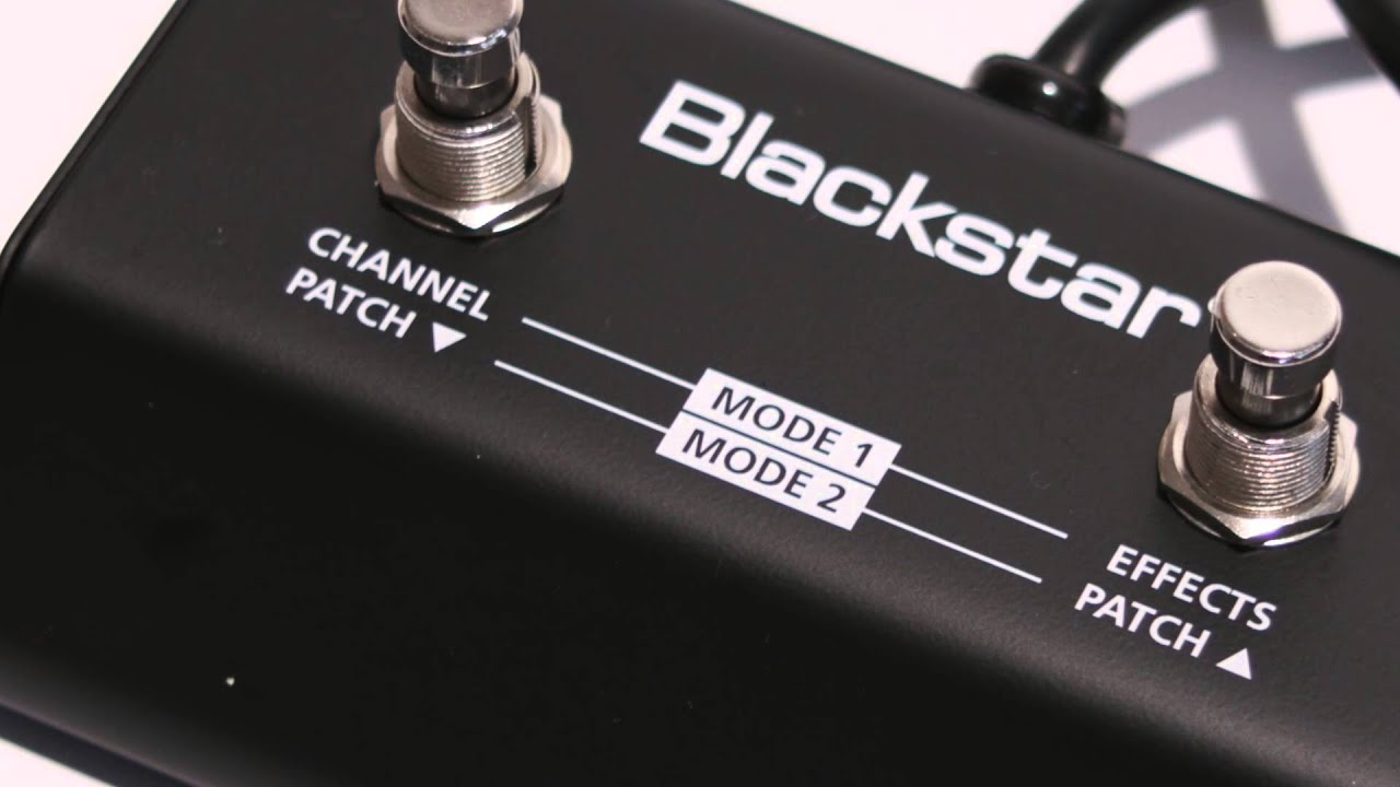Blackstar Id Core Fs-11 Footswitch Demo