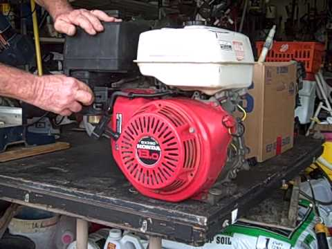 13 hp Honda engine 002.avi - YouTube