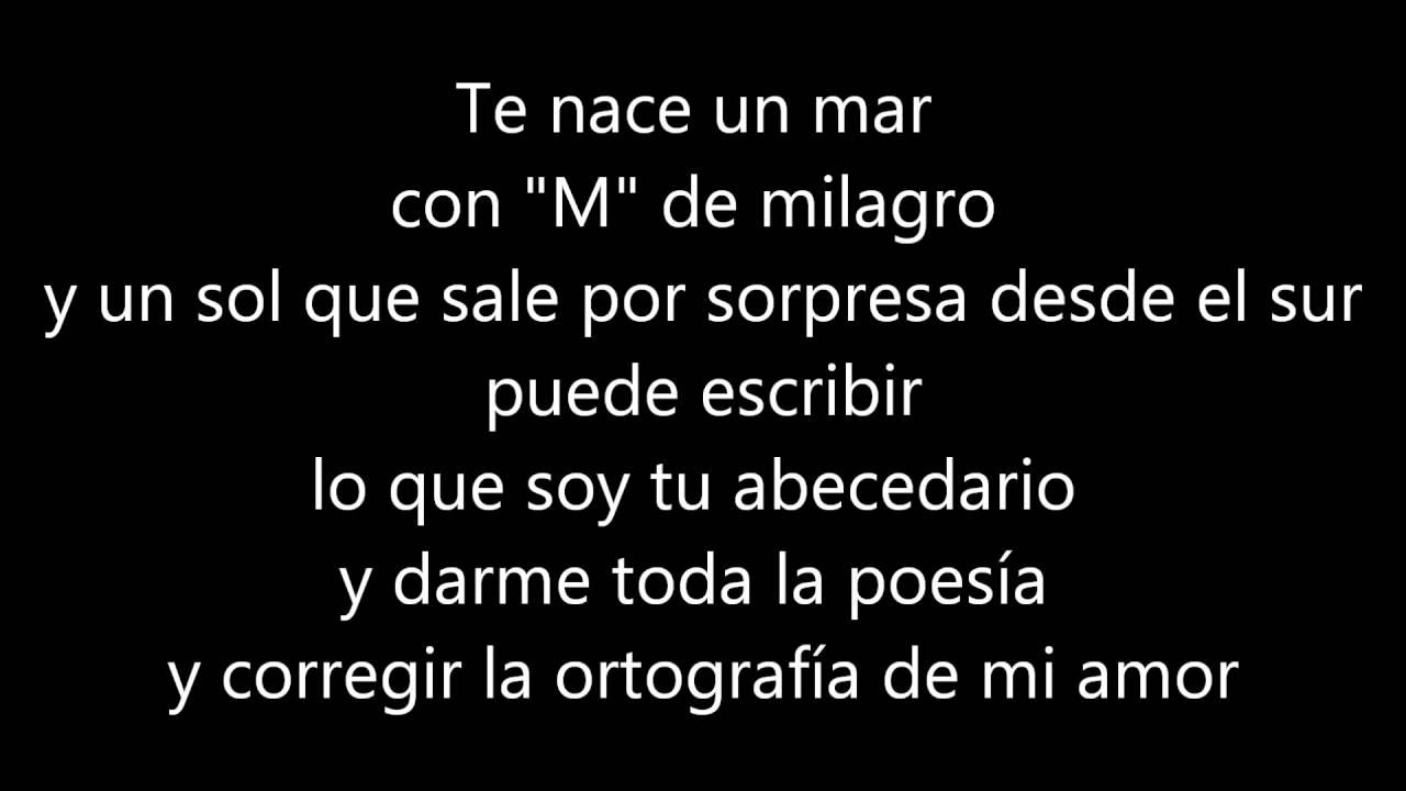 Kilometros - Sin Bandera Lyrics - YouTube