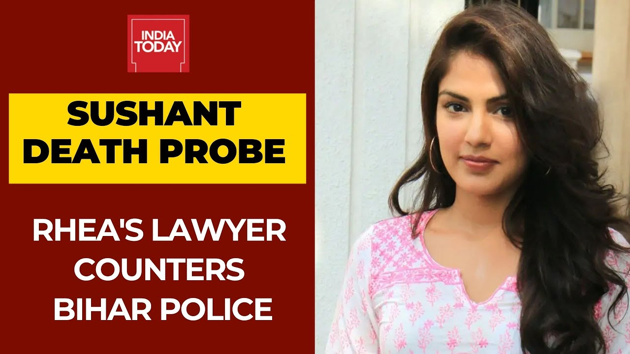 Rhea Chakraborty Not missing, Bihar Police Did Not Send Summons To Her: Actress's Lawyer