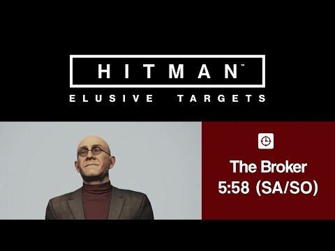 HITMAN - The Broker (Elusive Target #8) | Electrocution | 5:58 (SA/SO)