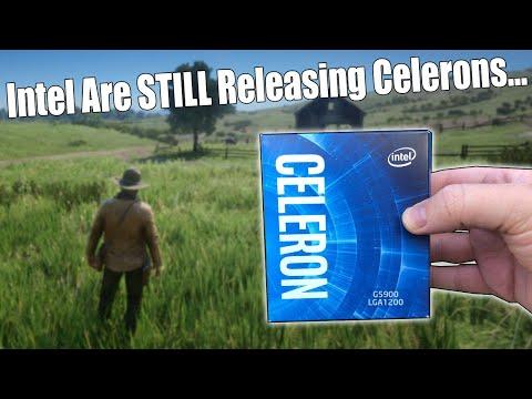 Intel's $40 10th Gen Celeron G5900   Can Celerons Game Yet?