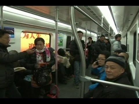 Wuhan Opens First Subway Line Under Yangtze River