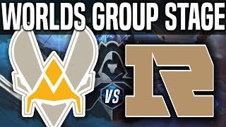 VIT vs RNG - Worlds 2018 Group Stage Day 5 - Vitality vs Royal Never Give Up Worlds 2018 Group Stage