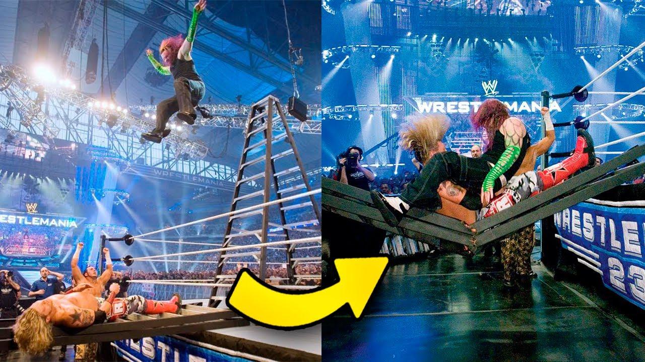 7 MOMENTOS DE ALTO IMPACTO EN WWE