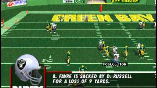 Madden NFL 98 PSX - Intro + Gameplay