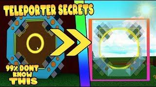 TELEPORTER *SECRETS* in Build a Boat for Treasure ROBLOX