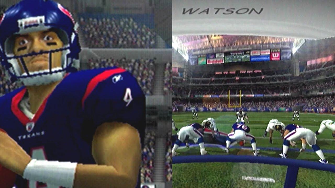 I AM DESHAUN WATSON ESPN NFL 2K5! MADDEN 18 LONGSHOT SHOULD BE LIKE THIS!  YouTube