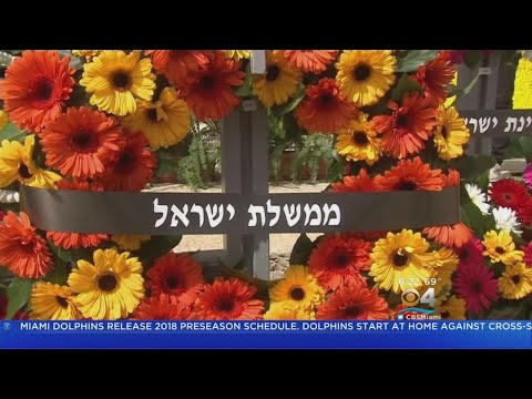 Israel Holds Moment Of Silence For Holocaust Victims