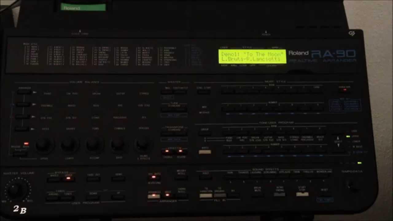 roland ra 90 realtime arranger demo songs youtube rh youtube com Roland Ra 90 Demo roland ra 90 arranger manual