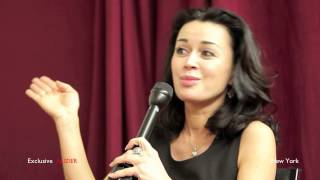 Интервью: Анастасия Заворотнюк  (Нью Йорк) 2012 HD