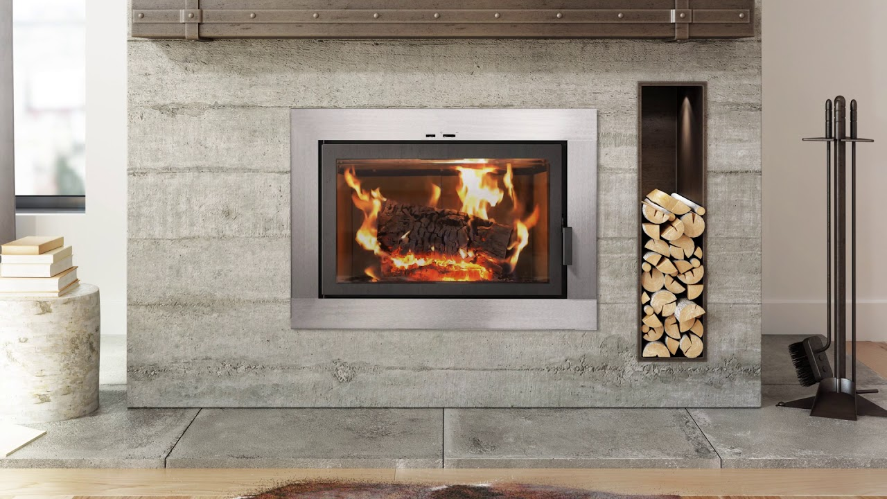 wood canada contemporary fireplace octees co stove burning black modern