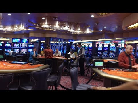DJI Osmo Royal Caribbean Anthem of the Seas Music Hall and Casino - I Lost in 4k