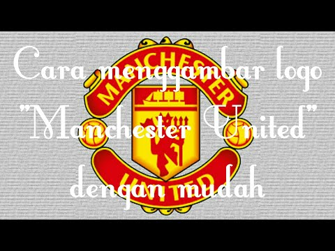 Learn how to draw the Manchester United logo in this step by step drawing tutorial..