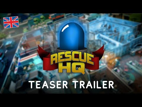 Rescue HQ – The Tycoon | ENG Teaser Trailer | Aerosoft