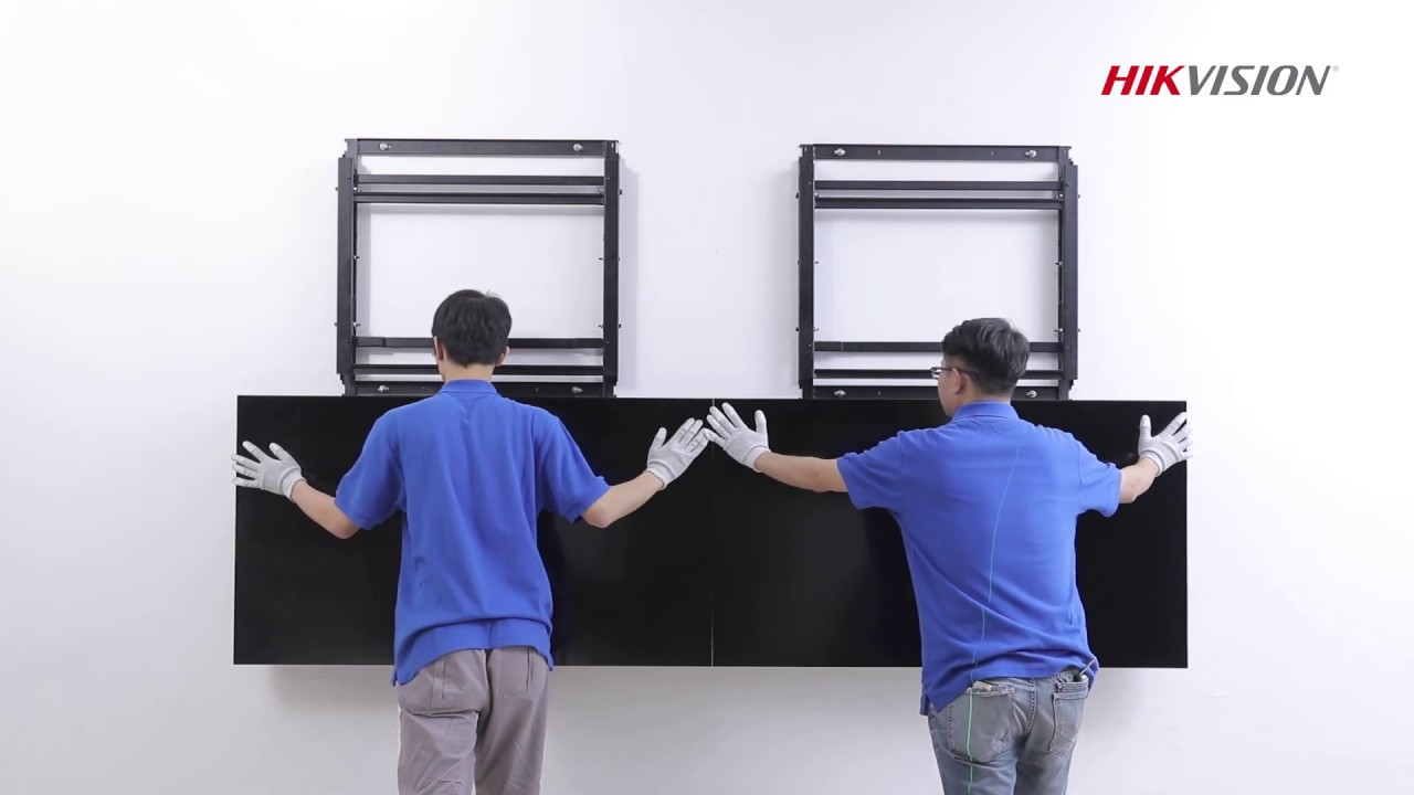 Front maintenance LCD Video Wall Installation Guide