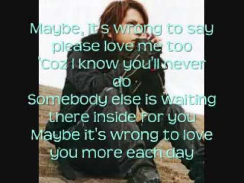 Maybe-King (with Lyrics)