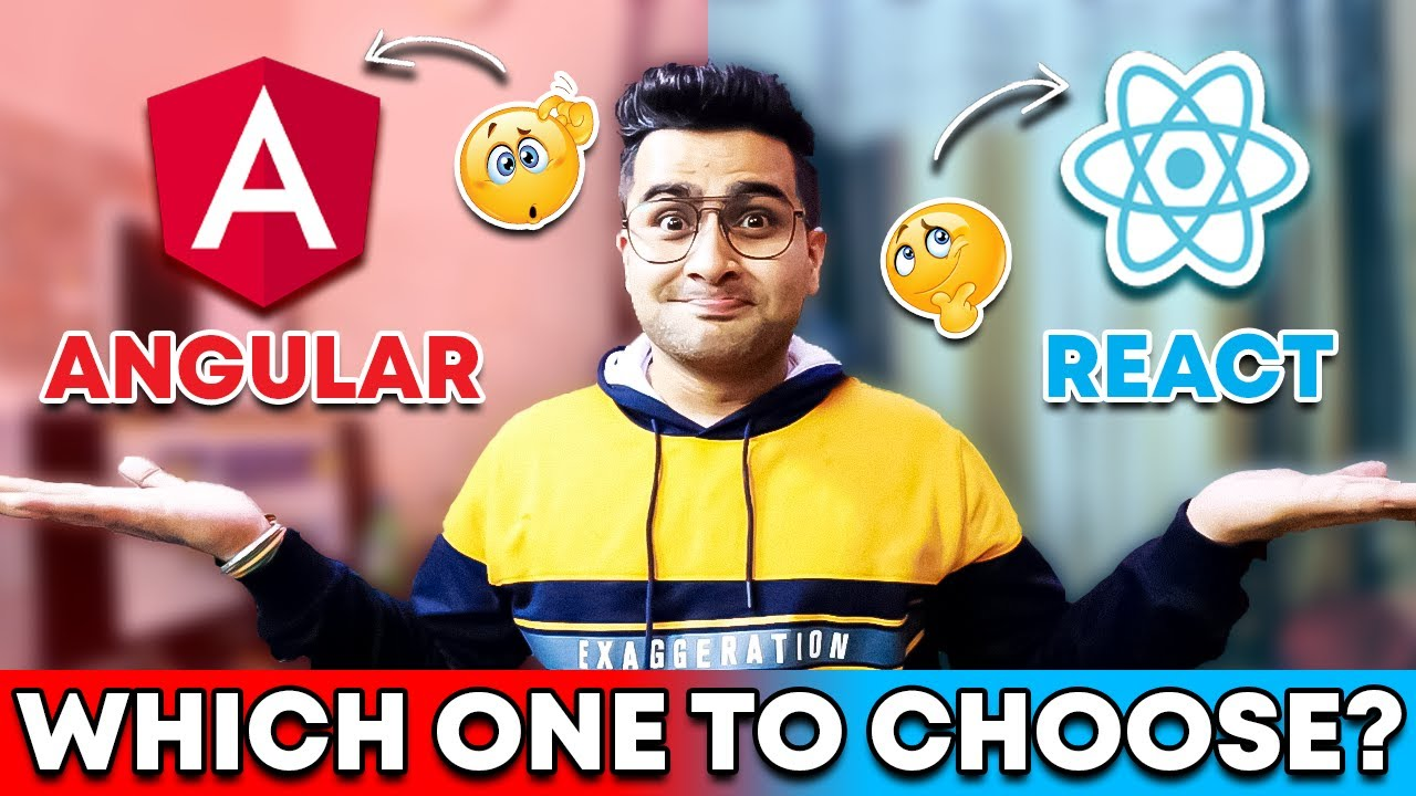 Angular vs. ReactJS - Which one you should Start First