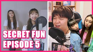 SECRET NUMBER Dita & Denise Tangled / 'I See The Light' Duet | SECRET FUN EP.05 Reaction (INDO SUB)
