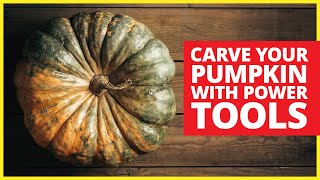 Mr. Handyman Shows How To Carve Pumpkins With Power Tools