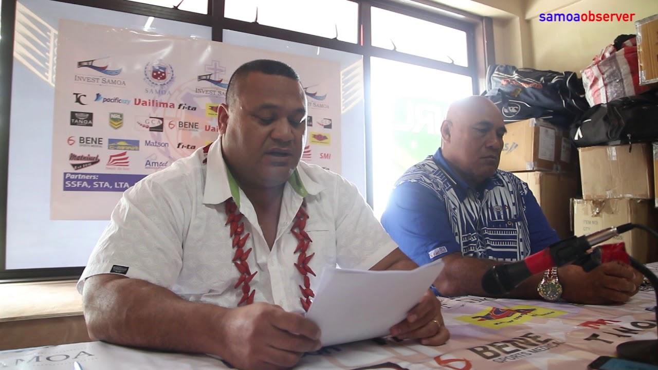Toa Samoa names World Cup squad - Dauer: 2 Minuten, 34 Sekunden