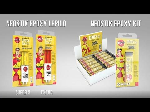 Neostik EPOXY epoksidna lepila in kit